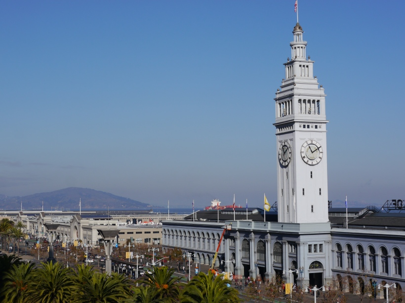 The beautiful Ferry Building
